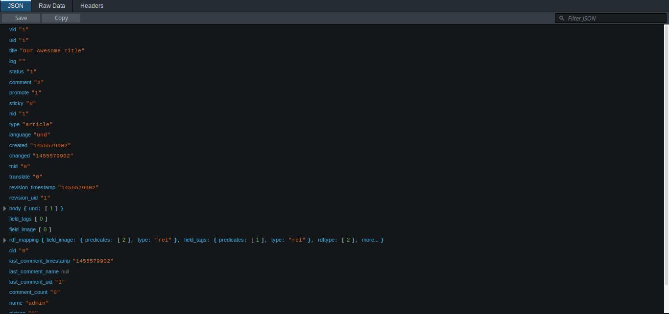 Retrieve a single node