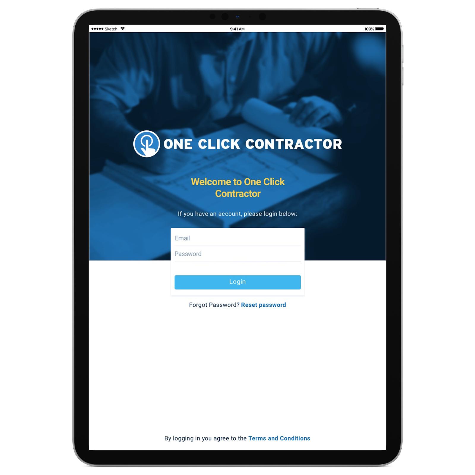One Click Contractor App